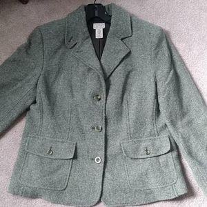 L.L. Bean Wool Blazer
